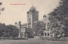 India; The Bengal Bank, Lahore PPC, Unposted, c 1910's