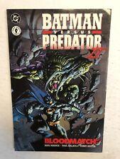 Batman Vs Predator II Blood-Match  TPB Paperback (NM)(1995) Doug Moench