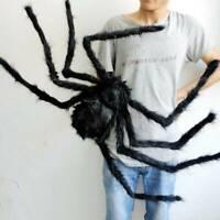 30cm Spider Halloween Decorations Haunted House Prop Indoor Outdoor Black Giant