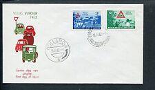 Ned.Nieuw Guinea FDC E8 - E 8, Veilig Verkeer 1962, blanco, ds Hollandia 8