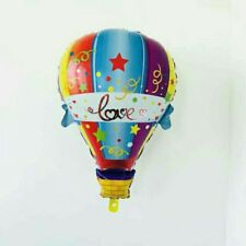 """Party : Happy Birthday Hot Air 24"""" Foil Balloon Party Decor Set 1 pc"""