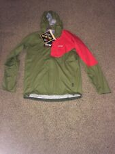 Gore-Tex Olive/Red Jacket Size L