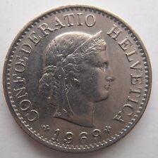 Suiza 5 Rappen 1969