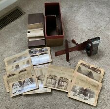 Vintage Rainforth's Stereoscopic Skin Clinic 1914 Original Box & 46 Slides