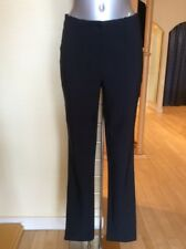 Michele Trousers 'Blue Dot' Size 10 BNWT Navy Elasticated Waist RRP £133 Now £59