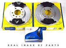 FRONT AXLE BRAKE SET DISCS AND PADS SAAB VAUXHALL COMLINE ADB01137 ADC1108V