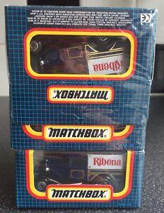 ORIGINAL LESNEY MATCHBOX TRADE PACK X 6 MB38 FORD MODEL A SUPERB - LOFT FIND