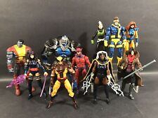 "MARVEL UNIVERSE X-MEN LOT OF 10 3.75"" FIGURES LEGENDS JEAN APOCALYPSE CYCLOPS"