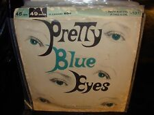 "FRANK RICH pretty blue eyes ( pop ) 7""/45 picture sleeve"
