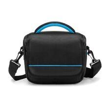 Caison Camera Case Shoulder Bag w/ Waterproof Cover Adjustable Interior Pockets