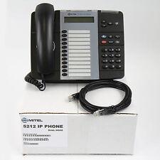 Mitel 5212 IP Backlit Dual Mode Phone Black -Lot