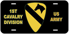1st Cavalry Division US Army Novelty Car License Plate