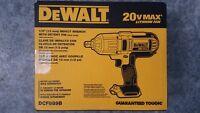 "DEWALT Dcf889b 20V 20 volt MAX* 1/2"" HIGH TORQUE IMPACT WRENCH New 2019 datecode"