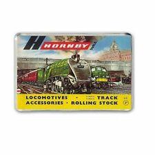 RETRO- HORNBY DUBLO CATALOGUE ARTWORK for TRAIN ROOM -JUMBO FRIDGE / MAGNET