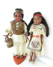 New ListingVintage ethnic Native American souvenir dolls set of 2 - 1 Carlson doll