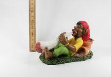 Rasta Bob Marley Reggae Marjuana in Resina - 5204 Ragazzo Fuma Canna Lunghissima