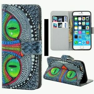 Luxury Leather Magnetic Wallet Phone Case For iPhone 5 5s SE 6 6s