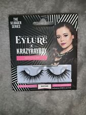 The Vlogger Series EYLURE X Krazyrayray KrazyGlam Lashes-Define with Glue
