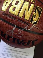 Kobe Bryant Autograph Basketball w/ Los Angeles Lakers COA