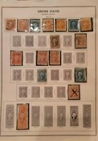 Scott #R1-R44 Washington Revenue Stamps (1862-1871) - Used (see details)
