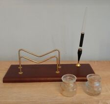 Antico set da scrivania anni 40 Munari Stilnova Penna stilografica