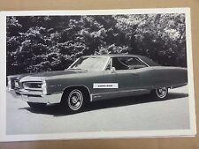 "1966 Pontiac Grand Prix 2 door hardtop 12 X 18"" Black & White Picture *"