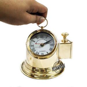 Desk Clocks Marine Furniture Table Clock Premium Decor/Gift For Office Vintage