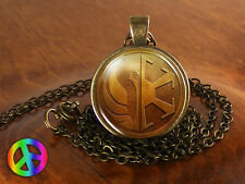 Star Wars KotOR Republic / Empire Jedi Game Necklace Pendant Jewelry Gift Men