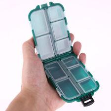Plastic Fishing Lure Tackle Box Small Accessory Box Square Fishhook Storage Box