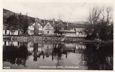 SUTHERLAND(Scotland): Altnacealgach Hotel RP-WHITE