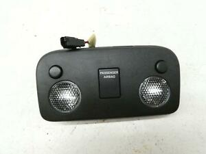 2015-2017 FORD MUSTANG FRONT DOME LAMP LIGHT BLACK OEM 2016