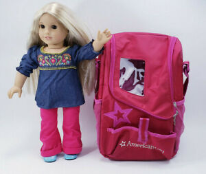 American Girl 2014 PA 11392 HK Blonde Hair brown eyes Clothes and Accessories