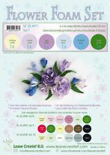 6 FOGLI di foamiran A4 gradazioni pastello SPESSORE 0,8 mm MOOSGUMMI x fiori