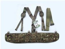 NEW - MoD Issue Mk2 MTP Battle Belt / Hip Pad System complete with Yoke - MEDIUM