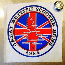 LARGE ORIGINAL VINTAGE 80's SCOOTER PATCH - Wigan Casino Patch Related