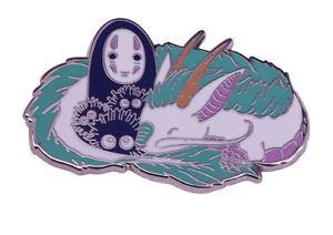 Haku Spirited Away Studio Ghibli Hard Enamel Pin Anime Badge