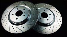 Phase 2 Front Brake Rotors Akebono Caliper For Nissan Z34 370Z Infiniti G37