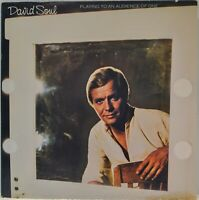 "David Soul ""Playing to An Audience of One"" 1977  [Private Stock Records PS 7001]"
