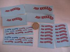 decals decalcomanie divers grandeur  mot jean richard pour cirque pinder 1/43