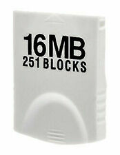 Hyperkin 16MB (251 Blocks) White Memory Card for Nintendo Wii or GameCube -...