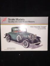 Scale Models Quality Die Cast Model Makers 1/20 1932 Chevrolet Coupe NIB