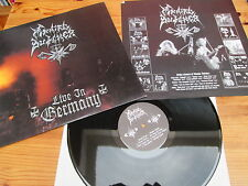 MANIAC BUTCHER LIVE IN GERMANY OOP LP tormentor nifelheim mayhem desaster watain