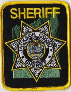 Jackson County Sheriff OR Police OREGON patch