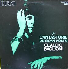 """Vinyle 33T Claudio Baglioni """"Un cantastorie dei giorni nostri"""" - ULTRA RARE"""