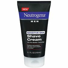 Neutrogena Men Sensitive Skin Shave Cream 5.1 Ounces