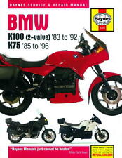 HAYNES WORKSHOP MANUAL FOR BMW K100 & K75 1983 to 1996