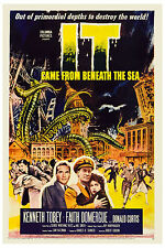 1950's Sci-Fi  * IT Came from Beneath The Sea  *   Movie Poster 1955