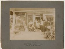 1900 Middle Village Queens Wackenhut Florist New York City NYC Mounted photo
