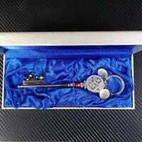 Tokyo Disney Resort 25th Anniversary Dream Key Ring Chain Charm Keychain Used FS