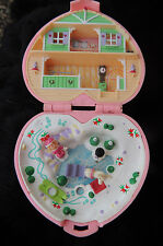 1989 Polly Pocket Mini ♥ Winter Herz ♥ Heidi´s Alpin Chalet ♥ 100% Complete RARE